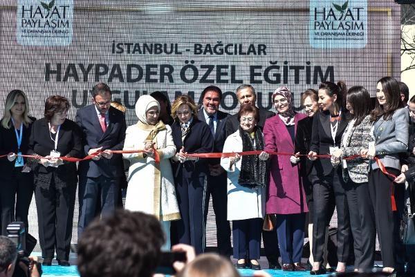 HAYPADER Özel Eğitim Uygulama Okulu Bağcılar'da törenle açıldı