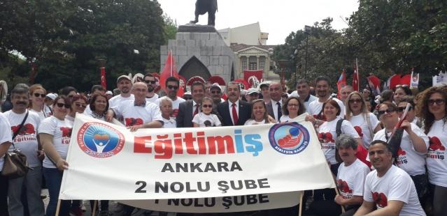 Eğitim İş 19 Mayıs'ı 100. yılında Samsun'da kutladı