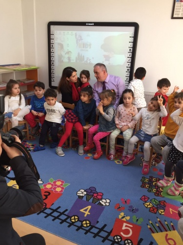 Amerikan Kültür® KIDS Göktürk'e sürpriz ziyaret