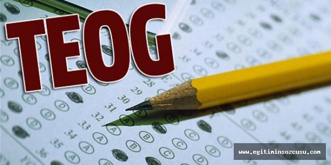 TEOG yerine getirilen sistemde 90 soru 135 dakika