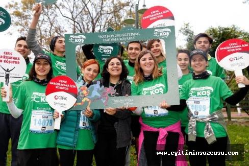 465 kişi eğitimde fırsat eşitliği için koştu, 733 bin lira bağış toplandı