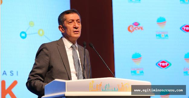 Milli Eğitim Bakanı Prof. Dr. Ziya Selçuk'tan 'çocuk kavramı' açıklaması