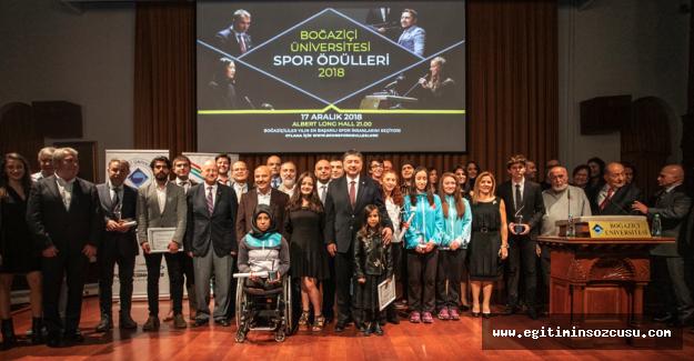 """""""Boğaziçi Üniversitesi Spor Ödülleri"""" Sahiplerini Buldu"""