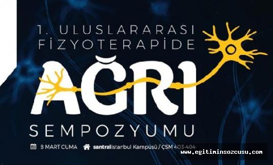 Ağrısı olan İstanbul Bilgi Üniversitesi'ndeki bu Sempozyumu kaçırmasın!