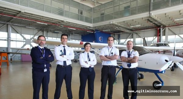Atılım Üniversitesi'de pilotlar yetişiyor