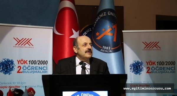 YÖK Başkanı Saraç: Doktoralı insan kaynağımızı artırmamız şart