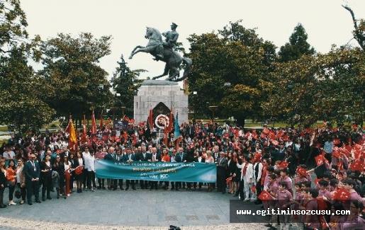 19 Mayıs'ın 100. yılı için 1919 kişi Samsun'daydı