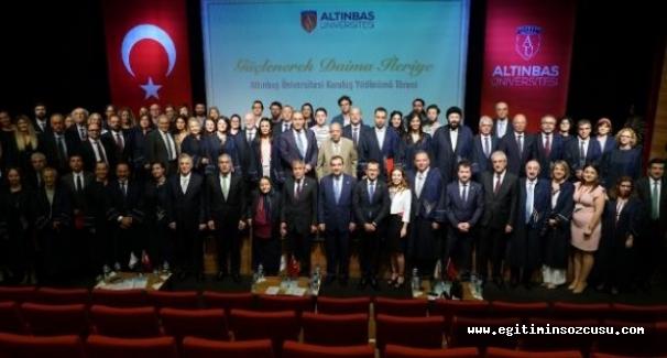 Altınbaş Üniversitesi kuruluş yıldönümünü kutladı