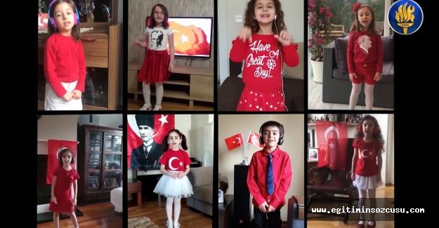 FMV Işık Okulları'ndan dijital platformda coşkulu 23 Nisan kutlaması