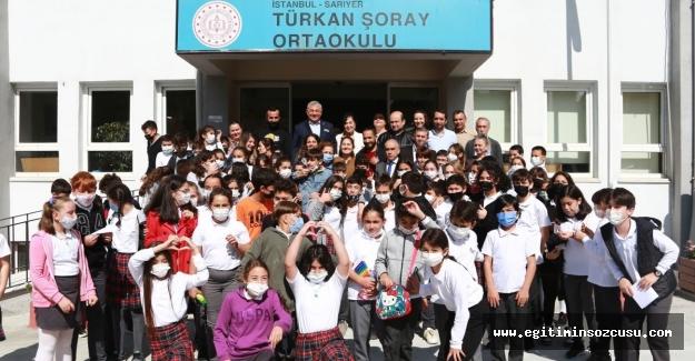 Türkan Şoray İlkokulu yenilendi
