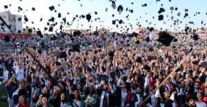 ÇOMÜ'de mezuniyet coşkusu