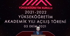 Erdoğan, Akademik yıl açılışında konuştu; Banklarda yatanlar terörist