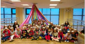 Anaokulu öğrencileri için pijama partisi yapıldı!