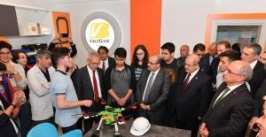 BİLSEM mekatronik atölyesi açıldı