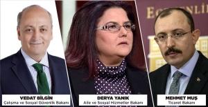 Bakanlar Kurulu'nda değişim; 3 yeni bakan atandı, 2 bakan görevden alındı